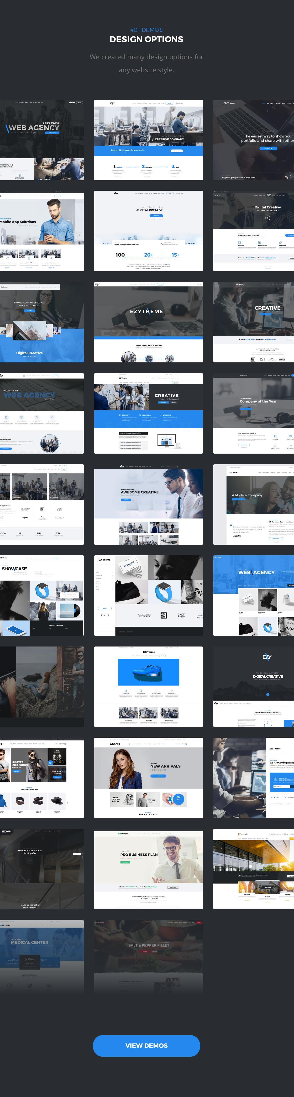 EZY – Responsive Multi-Purpose HTML5 Template   Bootstrap4