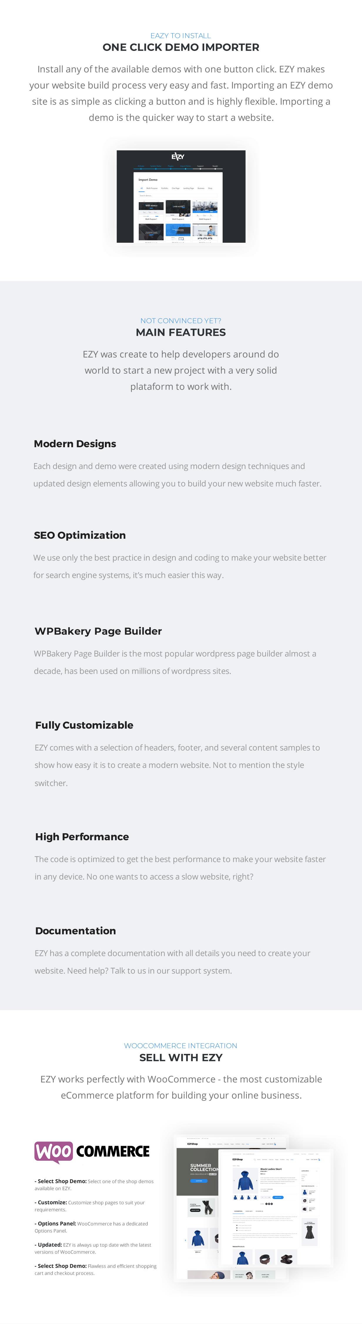 EZY - Responsive Multi-Purpose WordPress Theme - 4