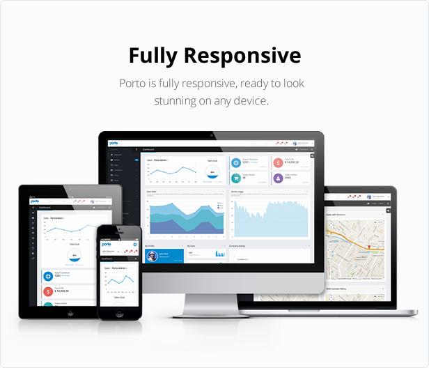 porto admin r3 c1 - Porto Admin - Responsive HTML5 Template