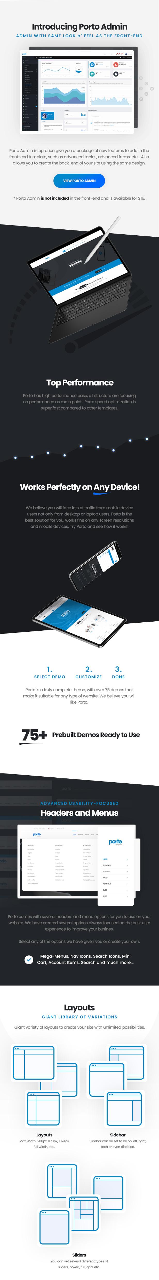 Porto - Responsive HTML5 Template - 3
