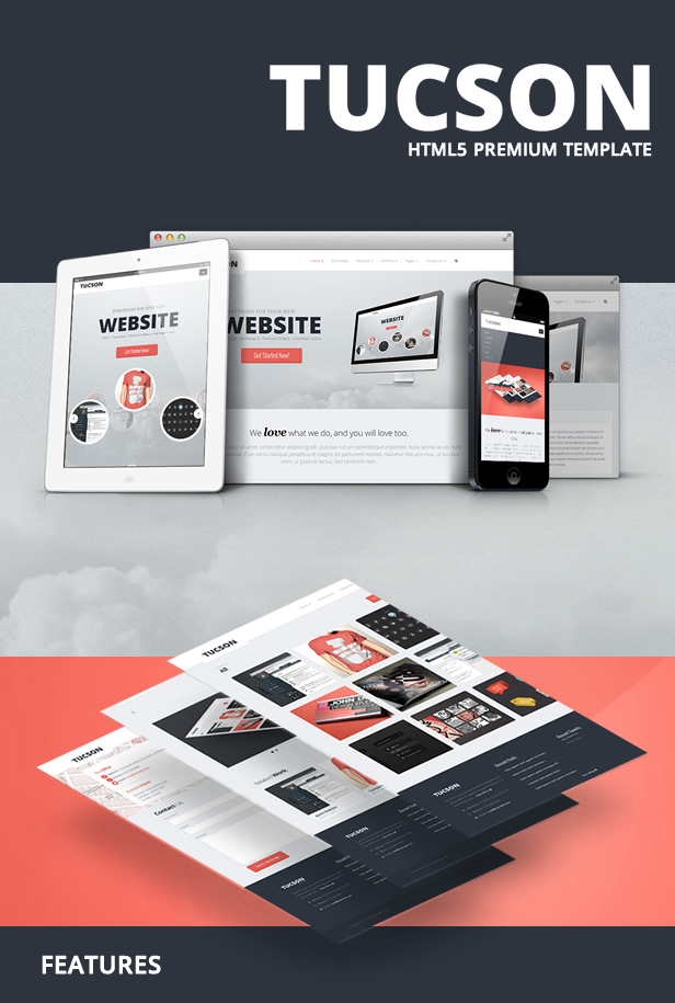 Tucson - Responsive HTML5 Template